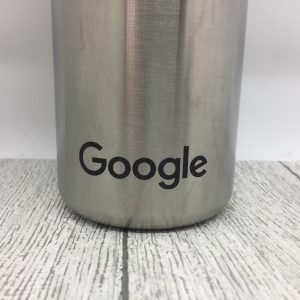stainless steel water bottle with Google logo - Jerrys