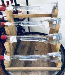 Tollhouse Spirits - Redcastle Gin - Laser engraved glass Shotgun Bottles